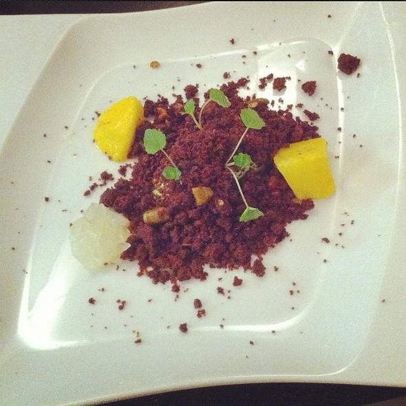 Chocolate Snow Dessert @ Esens'all