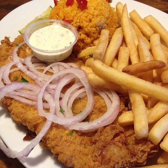 Breaded And Fried Snapper Filet - Don Camaron, Miami, FL