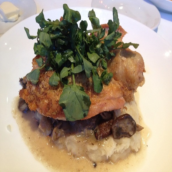 Roasted Organic Chicken @ Wolfgang Puck Fine Dining