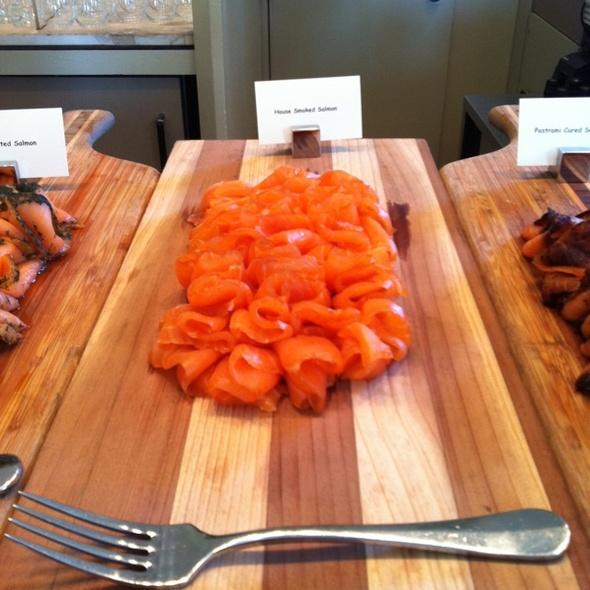 Smoked salmon - Seasons Restaurant - Four Seasons Washington DC, Washington, DC