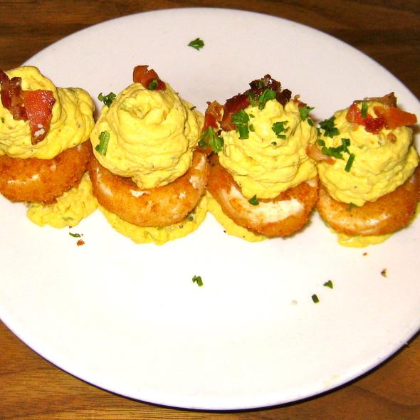 Deep Fried Deviled Eggs @ Nick's Laguna Beach