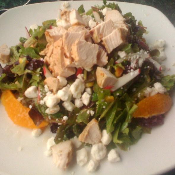 Salad With Grilled Chicken - E.R. Bradley's Saloon, West Palm Beach, FL