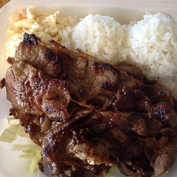 Beef @ L&L Hawaiian Barbecue