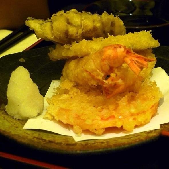 mixed tempura @ Tonkichi