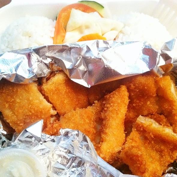 Fried Mahimahi @ Aloha Grill