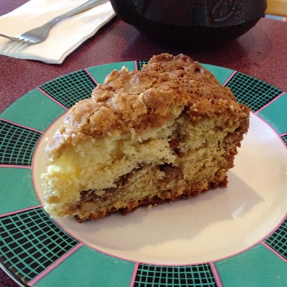 Coffee Cake @ Walden's Coffeehouse