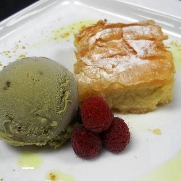Galaktoboureko - Indigo Restaurant, Fort Lauderdale, FL