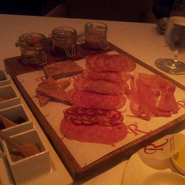House Cured Salumi Platter @ Restaurant  Revolution