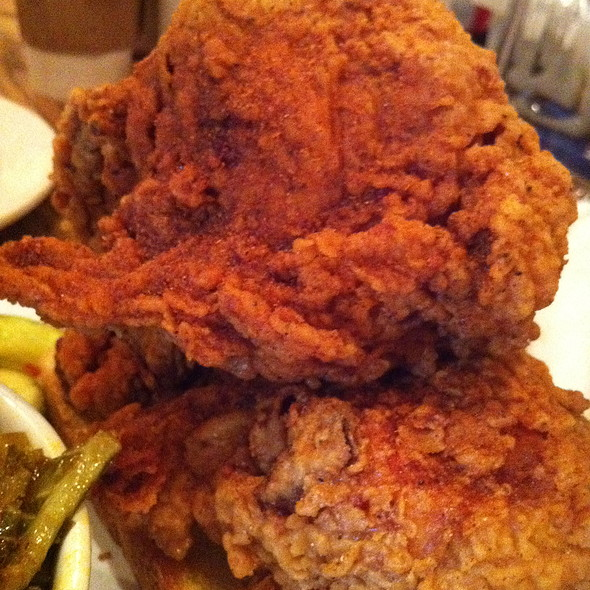 fried chicken @ Peaches HotHouse