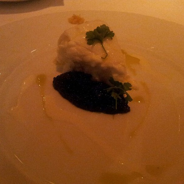 Buratta With Caviar @ Restaurant R'evolution