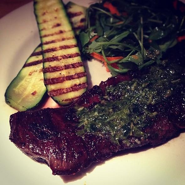 skirt steak at the grove. awwwyeah #meat porn @ Grove Cafe