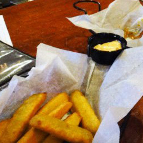 Fried Pickles @ Distillery