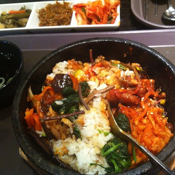 Bibimbap @ Incheon Airport Korea
