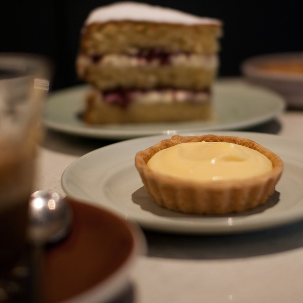 lemon tart @ Flour & Stone