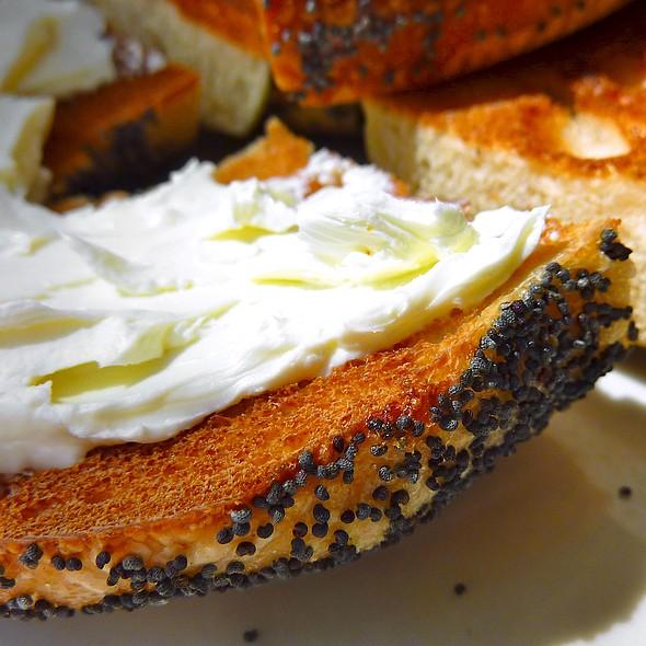 Cream Cheese Bagel - Snack Taverna, New York, NY