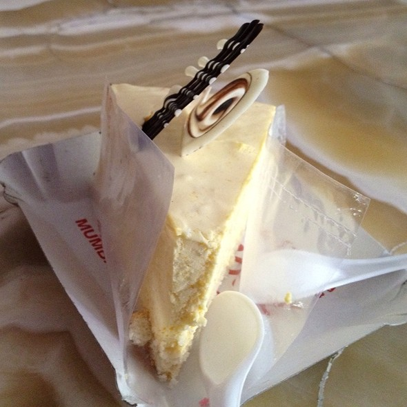 Mango Cheese Cake @ Gaylord