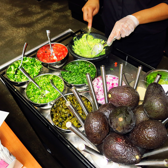 Fresh Made At Your Table Guacamole @ Cantina Laredo