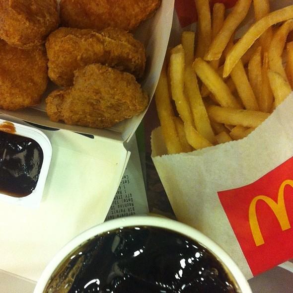 McDonald's Pioneer Reliance Menu