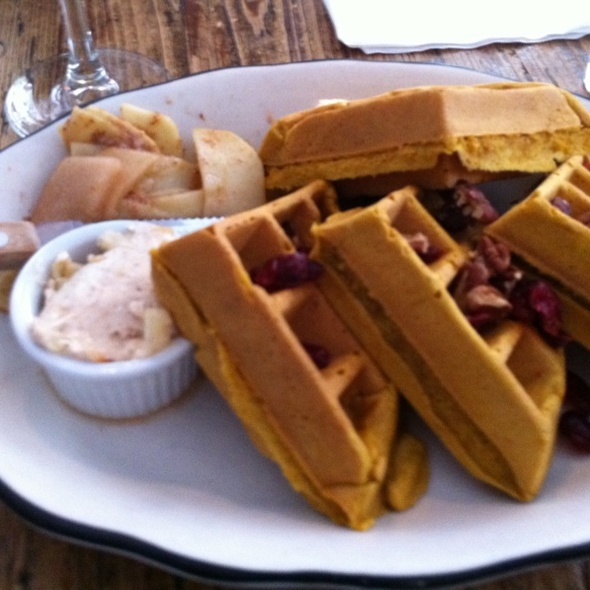 Punkin' Waffles @ Penelope Cafe