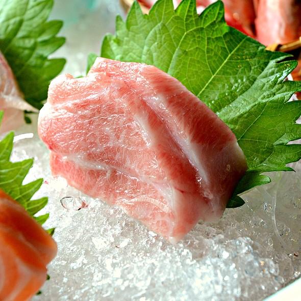 Toro Sashimi @ Senzuru Japanese Restaurant