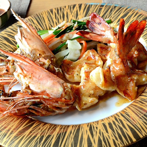 Grilled Shrimps @ Senzuru Japanese Restaurant