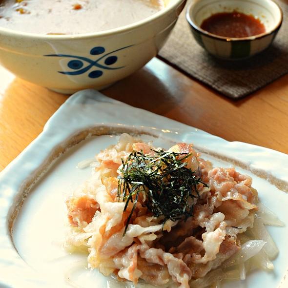 Okinawa agu pork with curry sauce @ Senzuru Japanese Restaurant