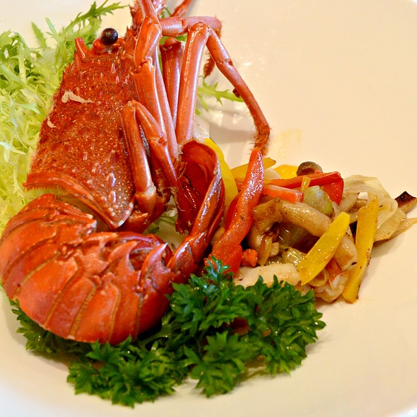 grilled lobster @ 嵯峨野 Sagano
