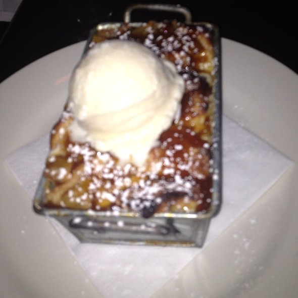 Pineapple And Bourbon Bread Pudding @ SoWe