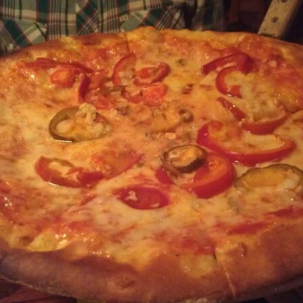Cheese Pizza With Cherry Peppers - The Dogwood, Jamaica Plain, MA