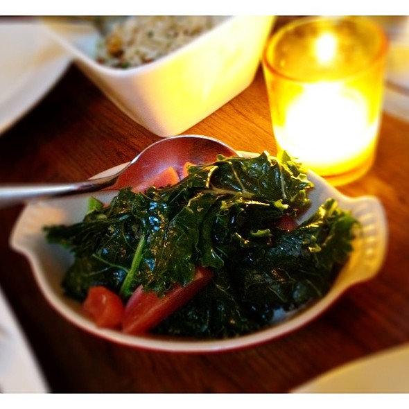 Sauteed Black Kale With Roasted Garden Radishes @ Ruby Watchco
