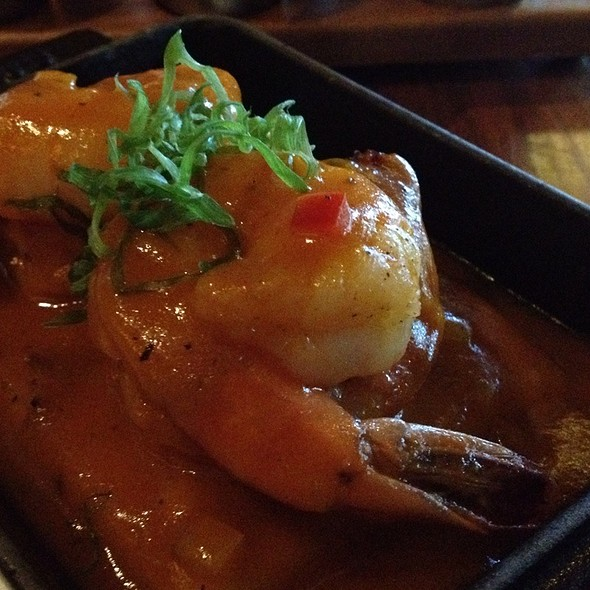 Shrimp and Grits @ BOURBON STEAK
