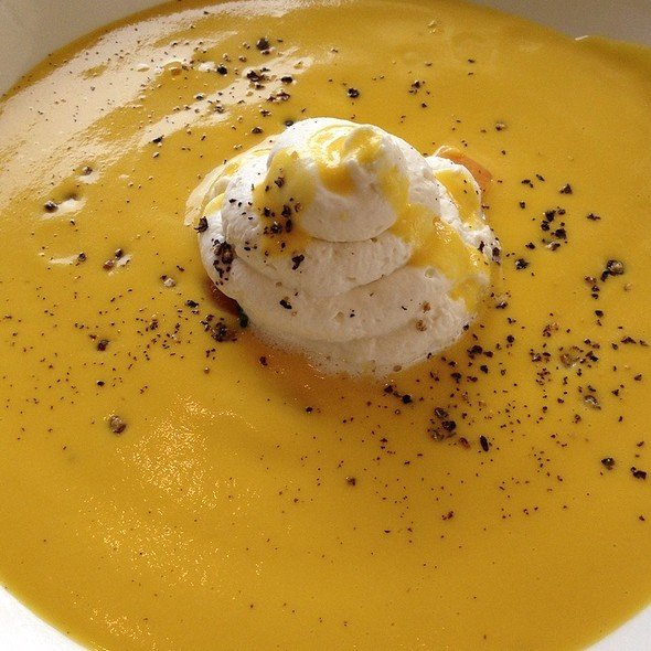 Butternut Squash Soup - Old Hickory Steakhouse, National Harbor, MD