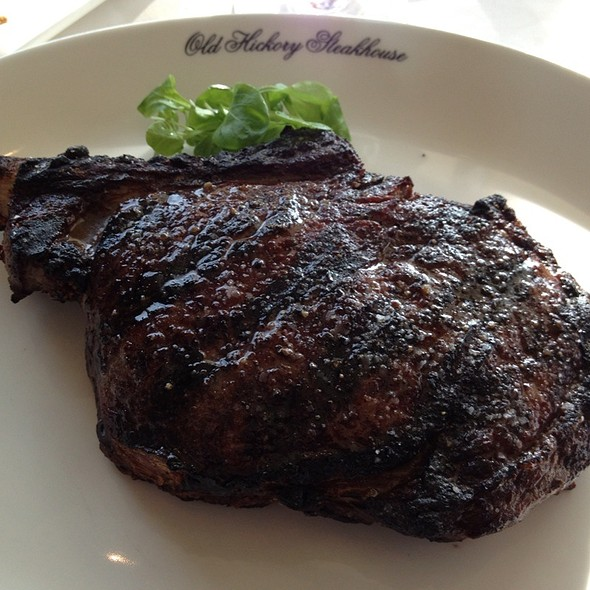 Ribeye Steak - Old Hickory Steakhouse, National Harbor, MD