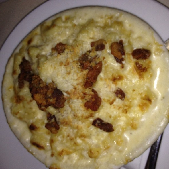 Cracklin Mac & Cheese - Glass Wall, Houston, TX