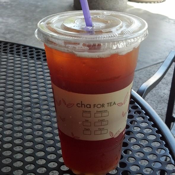 Peach Black Tea @ Cha For Tea