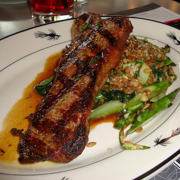 Grilled New York Steak - Steelhead Diner, Seattle, WA