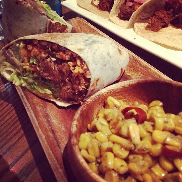 Lamb Burrito - Milagro on Queen West, Toronto, ON