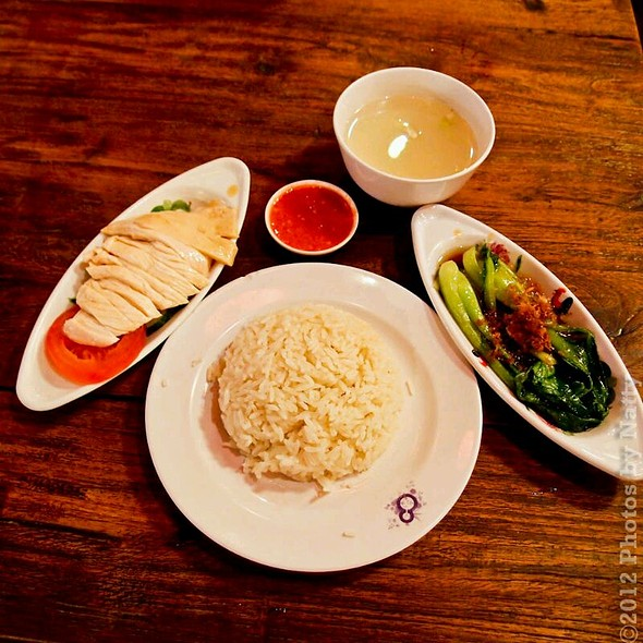 Hainanese Chicken Rice Set @ Food Republic (VivoCity)