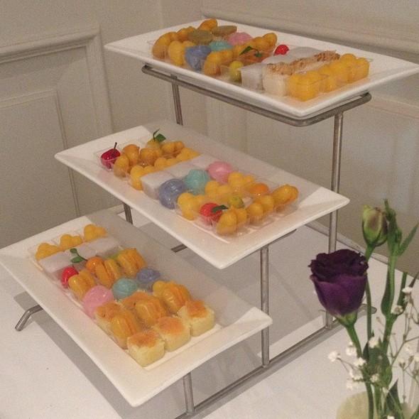 Thai desserts for Wedding @ Lebua Hotel at State Tower   โรงแรมเลอบัว แอท สเตททาวเวอร์