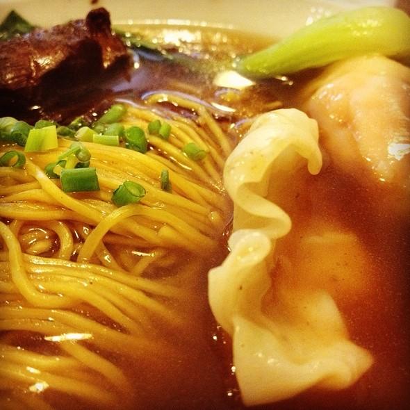 Nanking Beef And Prawn Dumpling Noodle Soup @ North Park Leviste