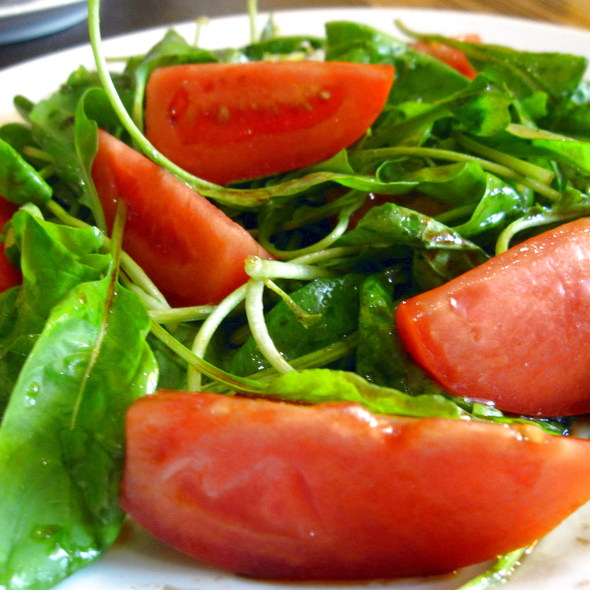 Baby Rocket Salad @ Torlente Restaurant