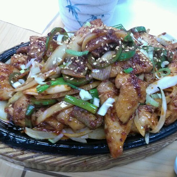 Spicy Korean Bbq Chicken @ To Bang