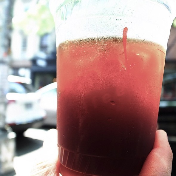 Iced Coffee @ Cafe Gitane