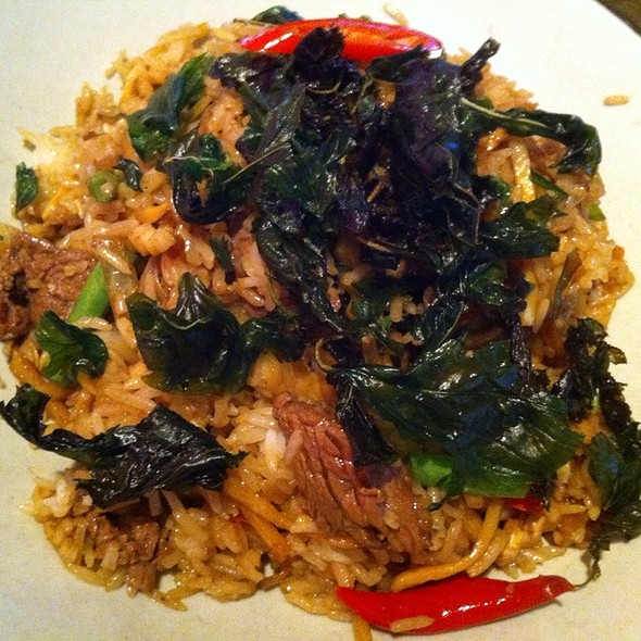 beef fried rice @ Restaurant Nooba