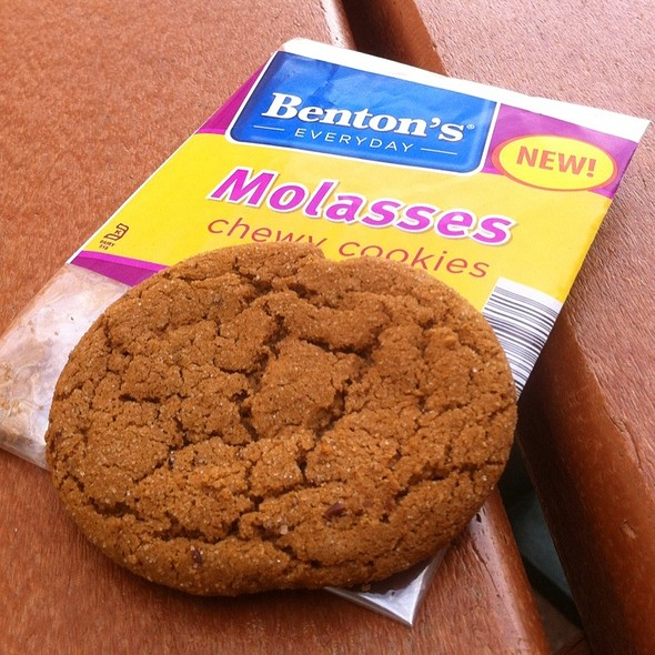 Molasses Cookies @ Green Roof