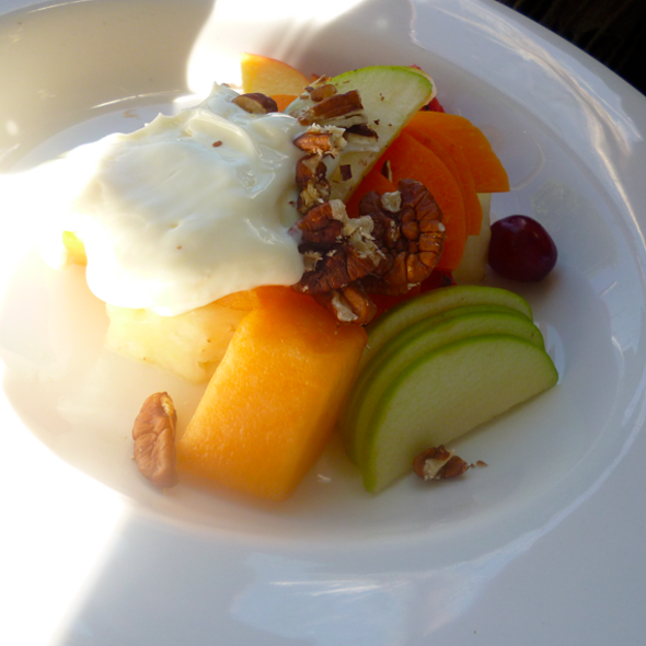 Fruit And Yogurt @ Friends of Mine