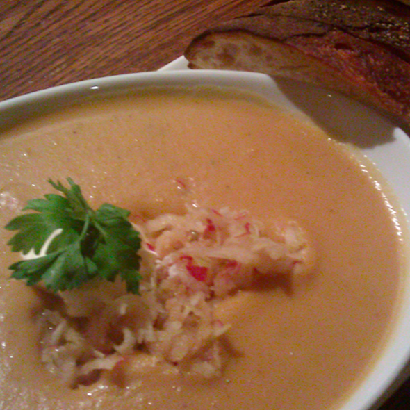Parsnip Soup @ Penny Farthing Espresso