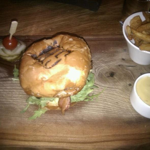 Grillmarkaðs hamburger @ Grillmarkaðurinn (The Grill Market)