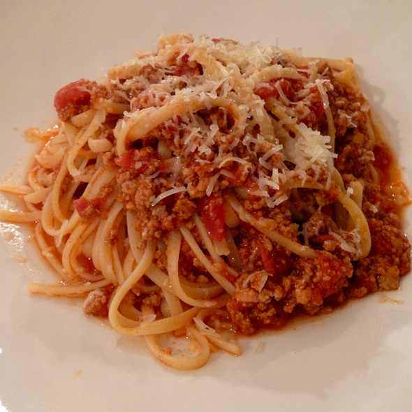 Pasta With Meat Sauce @ Sally's Kitchen