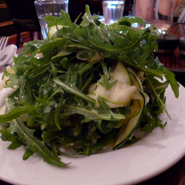 Rocket and Zucchini Salad @ Sally's Kitchen